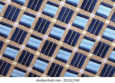 Details of Silk tie.