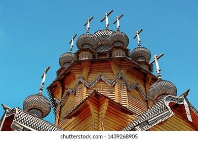 Details of Skete of All Saints (Vsehsvjatskij Skete), Sviatohirsk, Ukraine