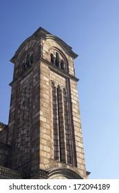 Details of St. Mark's church in Belgrade, Serbia