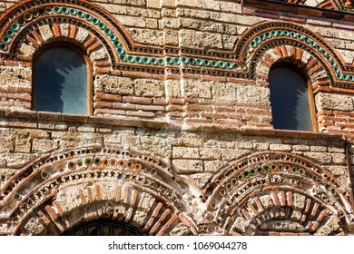 Details of the St Paraskeva Church in the Old Town of Nessebar, Bulgaria