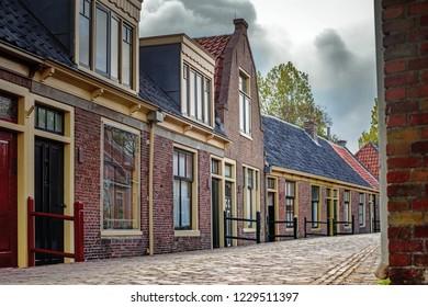 Details from traditional fisherman village open-air museum (Zuiderzeemuseum), Netherland.