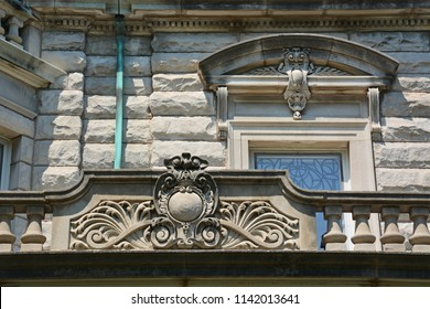 Details from a turn of the Century mansion located on one of Chicago's historic boulevards in the Logan Square neighborhood.