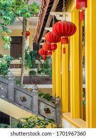 los detalles de los templos vietnam