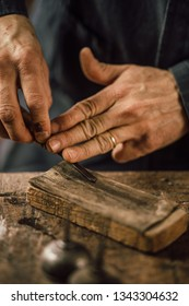 details of woodworking