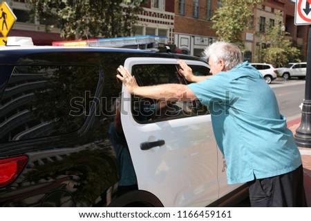 arrêté pour jaywalking