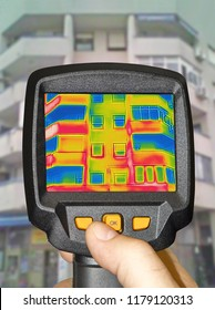 Detecting Heat Loss Outside building Using Infrared Thermal Camera