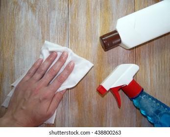 detergent and hand women