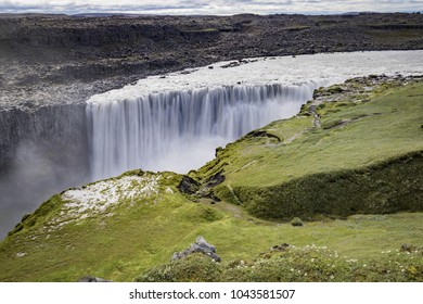 Detifoss in Iceland - Europe's Most Powerful Waterfall