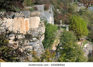 Detil Village Rocamadour in the French Rocamadour