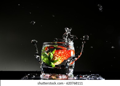 Detox drink / Water is a transparent and nearly colorless chemical substance that is the main constituent of Earth's streams, lakes, and oceans, and the fluids of most living organisms