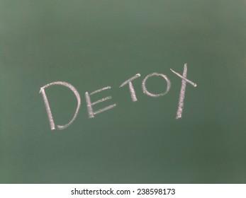 detox on blackboard