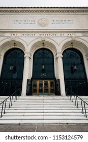 The Detroit Institute of Arts, in Detroit, Michigan