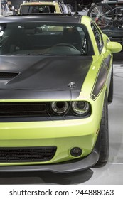 DETROIT - JANUARY 13 :The 2016 Dodge Challenger at The North American International Auto Show January 13, 2015 in Detroit, Michigan.