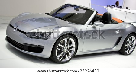 DETROIT JANUARY Volkswagen Eos North Stock Photo Edit Now - Eos car show