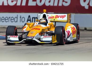 DETROIT - JUNE 2: The Sun Drop Indy car at the 2012 Detroit Grand Prix on June 2, 2012 in Detroit, Michigan.