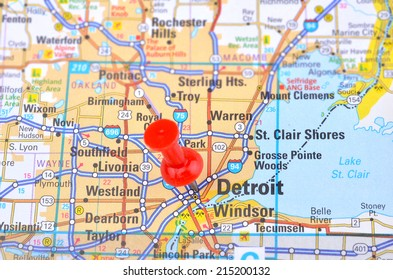 Detroit and Map