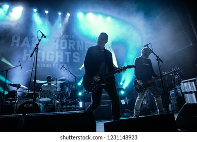 Detroit, Michigan / USA - 11-09-2018:  Hawthorne Heights performing live opening for Silverstein at the Majestic Theater of Detroit