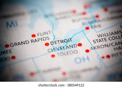 Detroit. Michigan. USA