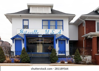 DETROIT, MI-MAY, 2015:  Original home of Motown Records, founded by Barry Gordy.