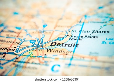 Detroit on the map
