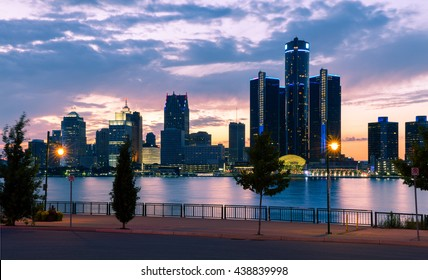Detroit River Sunset