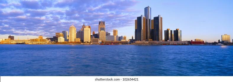 Detroit, Sunrise, Michigan