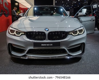 DETROIT, US   JANUARY 15, 2018: BMW M3 CS On Display During The