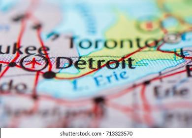 Detroit, USA.