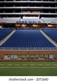 Detroit's Ford Field. Home of Super Bowl XL in 2006.