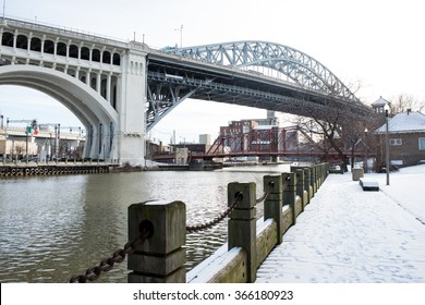 Detroit-Superior Bridge in Cleveland Ohio