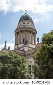 The Deutscher and the Franzosischer Dom reside in this beautiful area of Berlin. - Shutterstock ID 1859251705