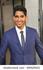 "Dev Patel at the Los Angeles premiere for HBO's new series ""The Newsroom"" at the Cinerama Dome, Hollywood. June 21, 2012  Los Angeles, CA Picture: Paul Smith / Featureflash"