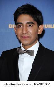 Dev Patel in the press room at the 61st Annual DGA Awards. Hyatt Regency Century Plaza, Los Angeles, CA. 01-31-09