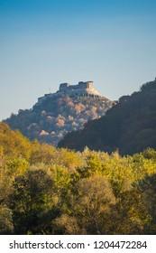 Deva citadel in the autumn