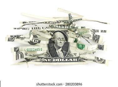 Devalued Dollar.