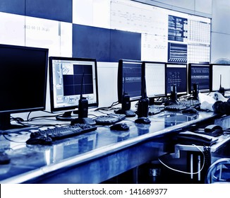 developed technology inside the railway control room