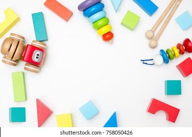 developing wooden toys for children