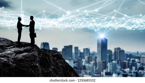 Development of the city concept,