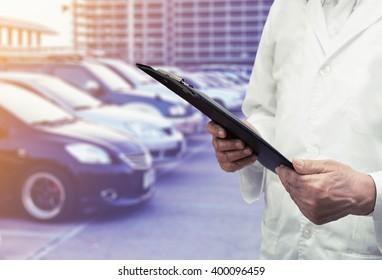 development engineering industry car background
