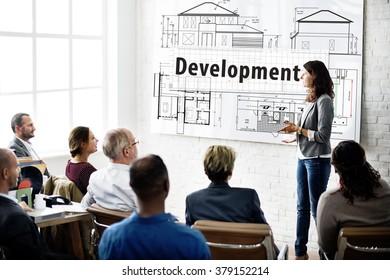 Development Improvement Construction Growth Concept