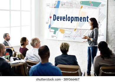 Development Map Location City Plan Concept