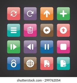 development, soft icons universal set for web and mobile