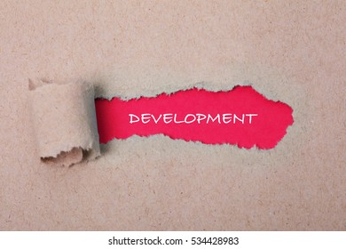 Development, Technology Concept