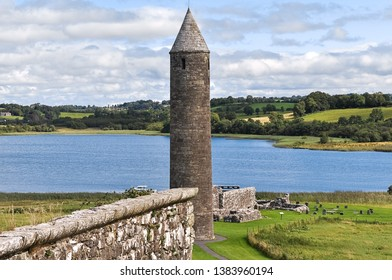 Devenish Island Monastic Site, County Fermanagh, Northern Ireland