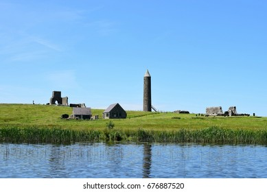 Devenish Island Monastic Site, Lower Lough Erne, County Fermanagh, Northern Ireland