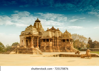 Devi Jagdambi Temple, dedicated to Parvati, Western Temples of Khajuraho. it's an UNESCO world heritage site - popular amongst tourists all over the world.