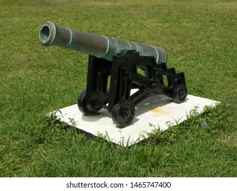 Device related to army, especially cannon technology, featuring war howitzer.