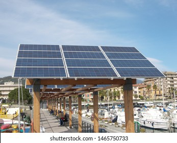 Device related to energy, especially solar panel technology, featuring Chiavari.