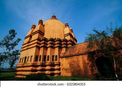 Devidol or Durga temple also known as Joido, Sivasagar district, Assam, India.