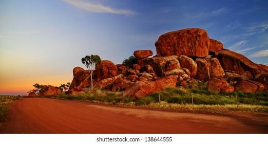 Devil marbles, Northern territory Australia